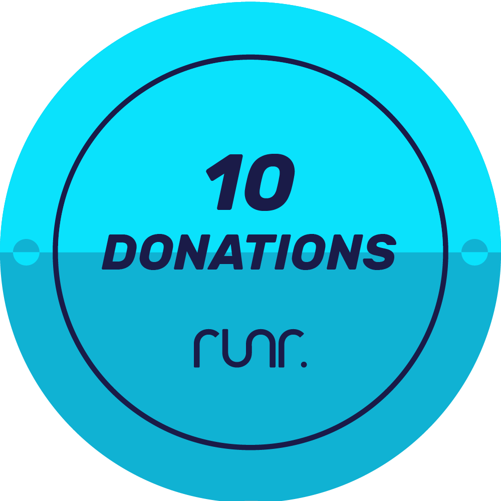 10 Donations Received