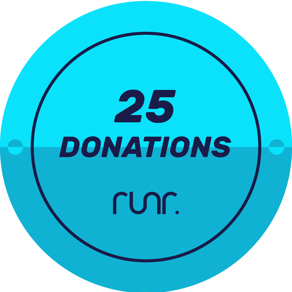 25 Donations Received