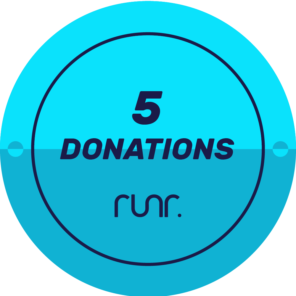 5 Donations Received