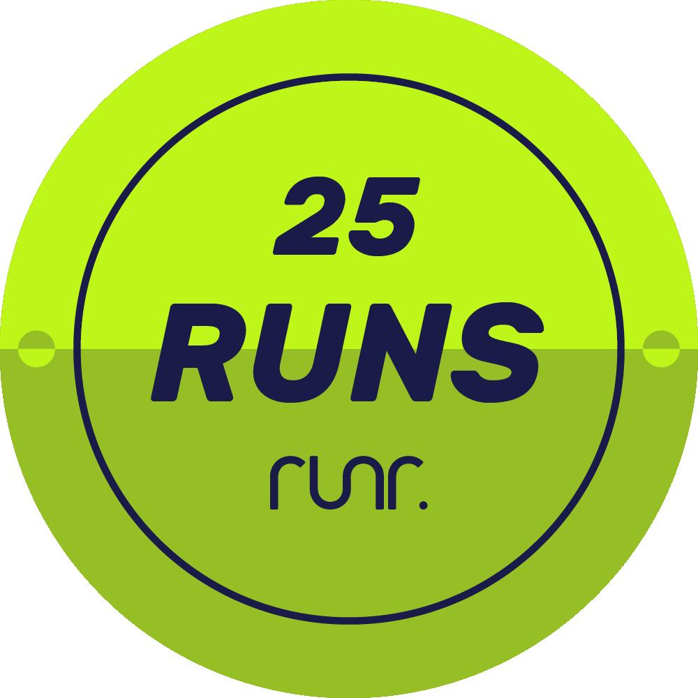 25 Activities Logged