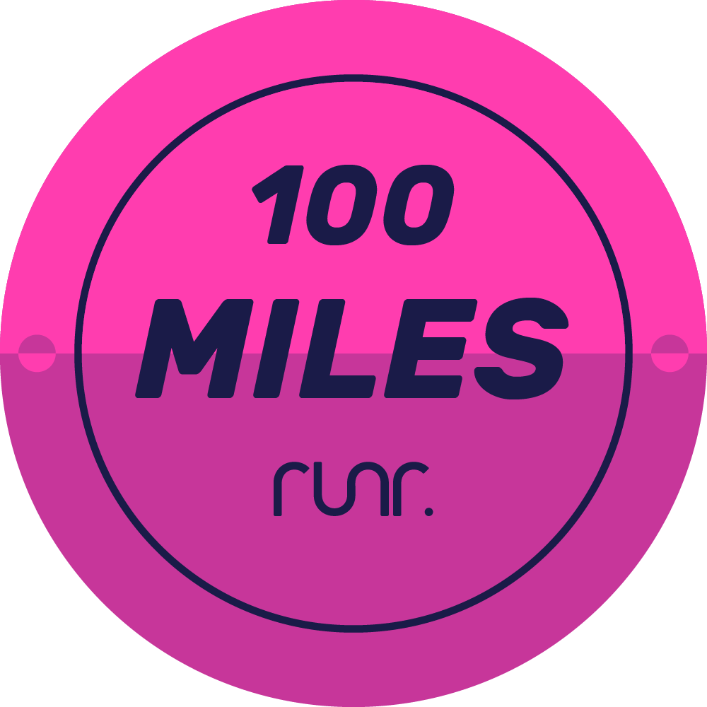 100 Miles Completed
