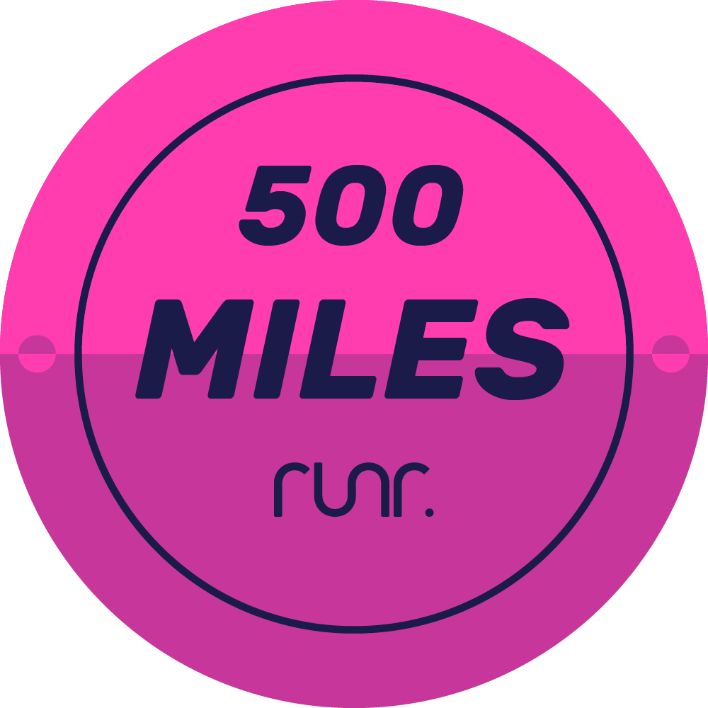 500 Miles Completed