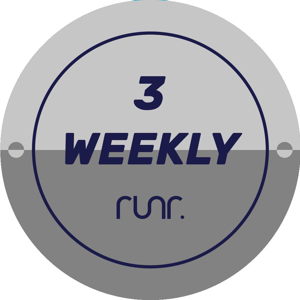 3 Weekly Activities