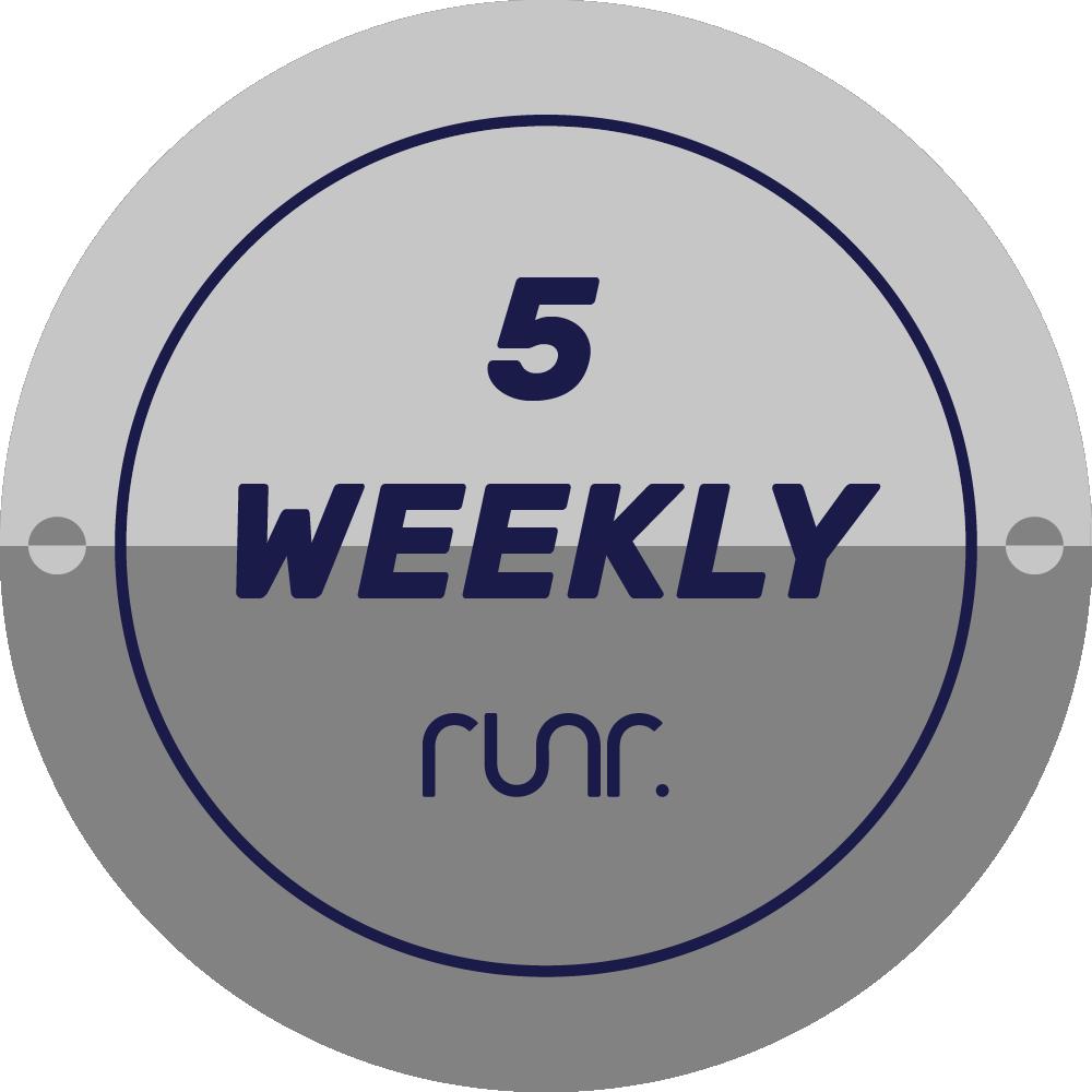 5 Weekly Activities